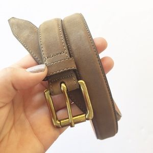 Cole Haan | Brown Suede Leather Belt Size 38